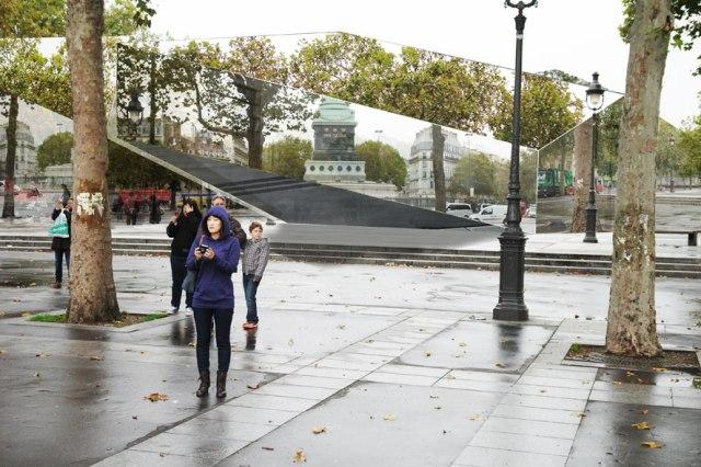 visualisation (Paris, place de la Bastille)