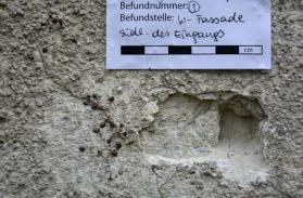 analysis of the historical plaster (Sagmeister)