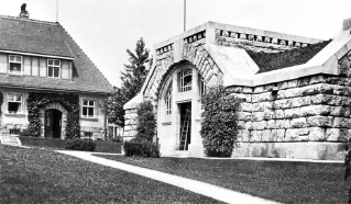 historical photography of the water reservoir (Bezirksmuseum Ottakring)