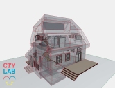 simple 3D architectural model