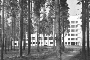 Erik Bryggman, Abo, sports academy Vierumäki 1935 (source: (Das) Werk, Nr. 27 (1940) Heft 3/4: Doppelnummer Finnland)